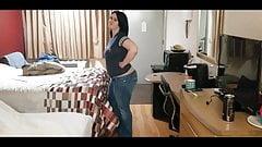 Melan MILF Showing off