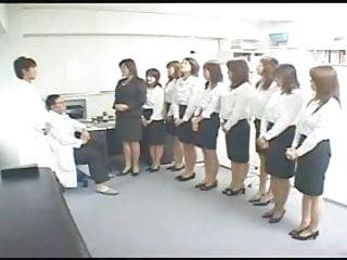 J-list japanese nurse penis examine Asian medical examination