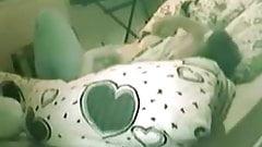 Hidden cam masturbation