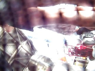 My first voyeur - My first ever upskirt film