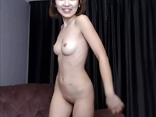 Asian girl bowie naked Gorgeous asian girl dances naked on cam