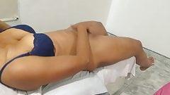 Girl Masturbing With hand