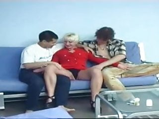 Blonde hot shemales - Blonde hot milf with two younger men