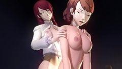Persona Mitsuru Kirijo Yukari Takeba