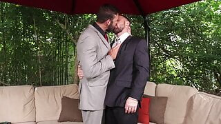 Scruff in Suits - Sergeant Miles and Xavier Jacobs