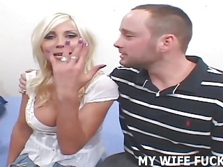 Wife and huge dick Watch me ride his huge dick