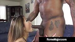 Black Bull Rome Major Stuffs Nyomi Star's Asian Asshole!