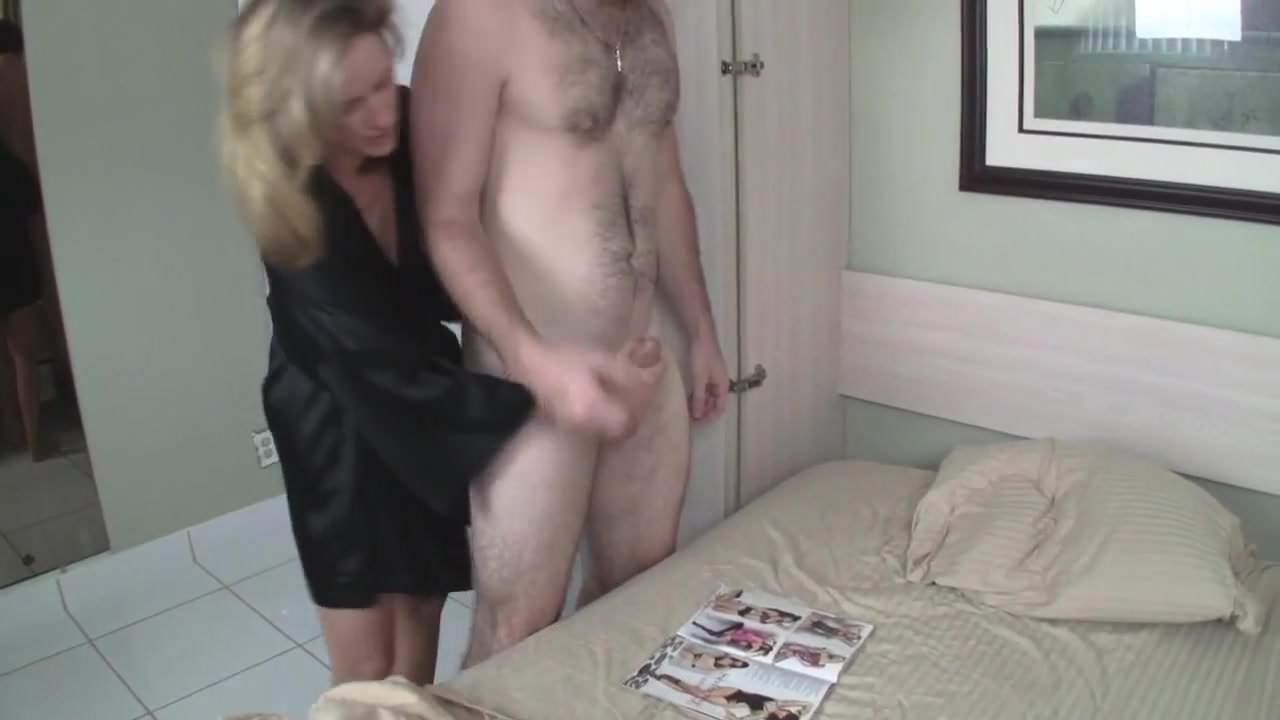 Mom Catches Son Creampie