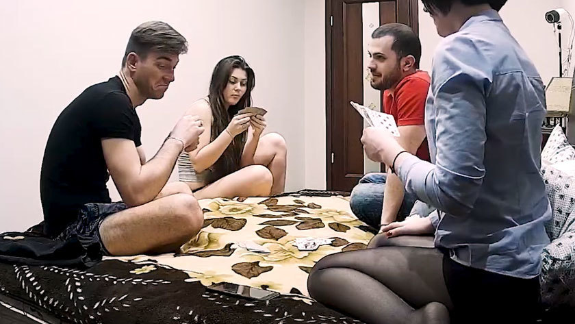 Free download & watch amateur two couples play strip poker has hardcore action xhIXRBv porn movies