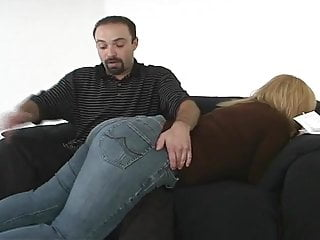 Spanking girles bottoms - He spanks big bottom