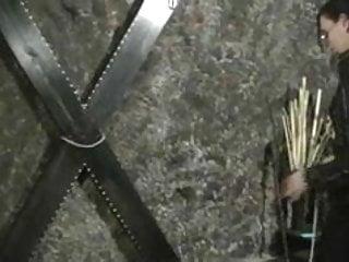 Bdsm bastinado Lady jenny - traditional falaka - bastinado
