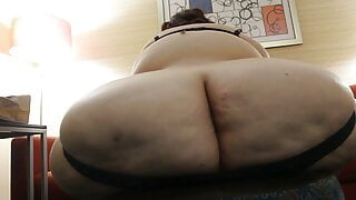 huge ass and thick thighs ssbbw