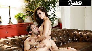 Step-Brother & Step-Sister Sexual Tension Turns To Fucking