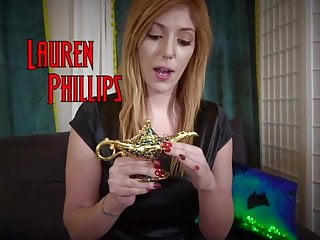 Penis switch lamp Lauren phillips magic lamp hogtie
