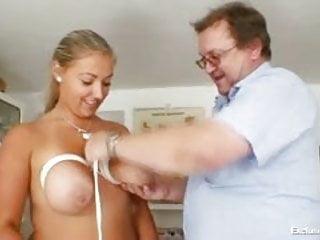 Medical exam pussy Busty plump donna tits bondage gyno exam