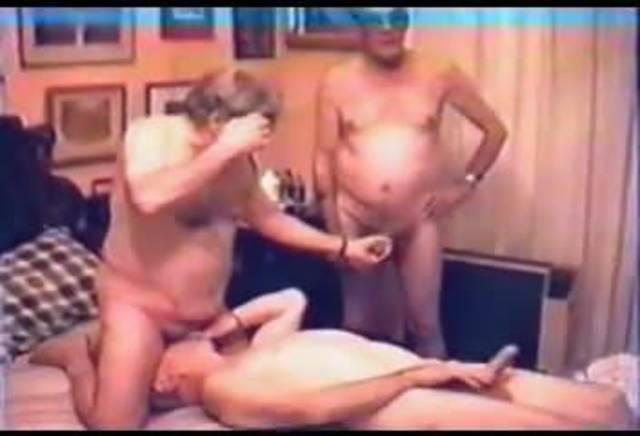 Older men orgy