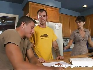 Milf fucks son friend - Mom fucks her sons friend