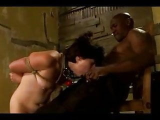 Dominated by a tranny White submissive whore roughly dominated by a bbc