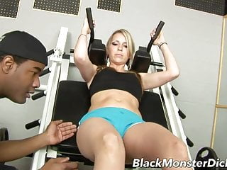 Amateur courtney tits Busty courtney cummz black cock workout