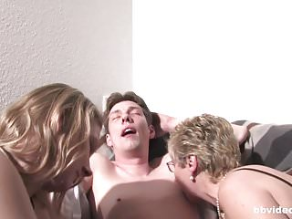 Hard penis fucking - Bbvideo.com german milf and cutie sharing a hard penis