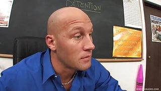 Blonde Student In Pigtails Fucks Teacher
