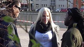 Lara CumKitten - BBC on Blonde