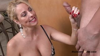 Sexy Milf Sucks Dick and Swallows Load