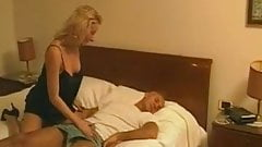 Classic daddy and daughter scene