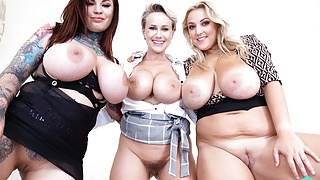 Czech VR 355 - Six Huge Tits and Your Cock!