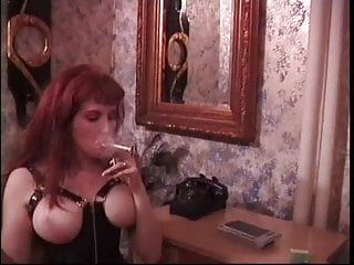 S m costume bondage dominatrix - Sex slave is bound and teased by two cute sm mistresses in bondage room