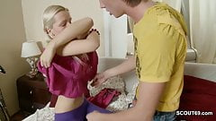 Skinny Step-Sister Fuck in Ass by Her Step-Brother