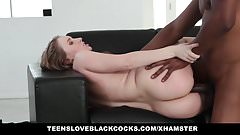TLBC - Sexy Teen With Huge Ass Fucks Big Black Cock