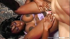 Private Black - Big Black Cock Lover Vanessa Vaughn Takes On