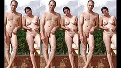 Szarpanie wyzwanie - gorące seksowne nagie pary