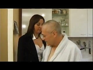 Mature brunett - French casting 99 brunette anal mature mom milf and old man
