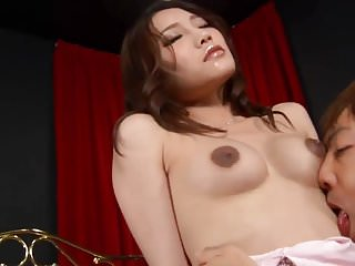 Good asian bands Ibuki enjoys cumon face after a good asian fuck