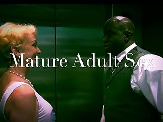 Young black cum lovers - White women meets black lover at a hotel for creampie. gilf