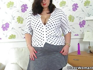 Uk pantyhose sex movies - Pure pleasure awaits you when uk bbw jayne storm undresses