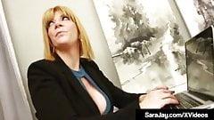 Sara Jay Fucked In Office