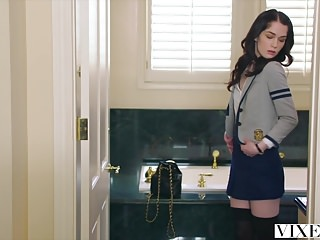Real teacher fucking student - Vixen hot student fucks teacher