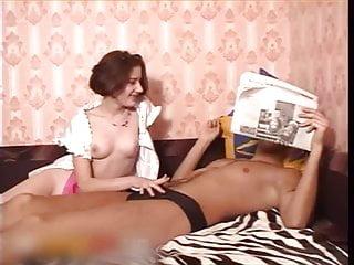 Bare russian nudist Nadine - barely legal