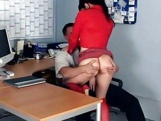 Fucking secretary stocking Petite secretary fucking in knee high stockings