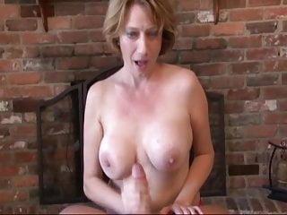 Fat moms get a huge cock She gets a huge cum shower