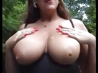 Wife fucks gardener Look mom is walking in the garden.