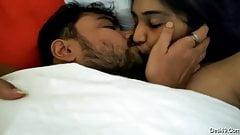 Desi bhabhi's nice boobs fondled with hot blowjob 2