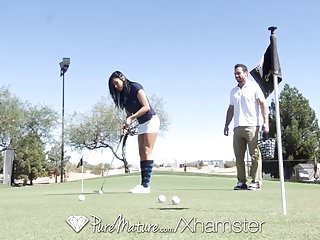 Apparel golf vintage Puremature golf teacher fuck with busty mature audrey bitoni