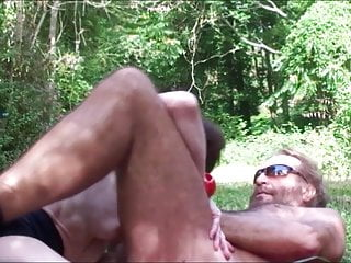 Russian summer nudist In the forest last summer