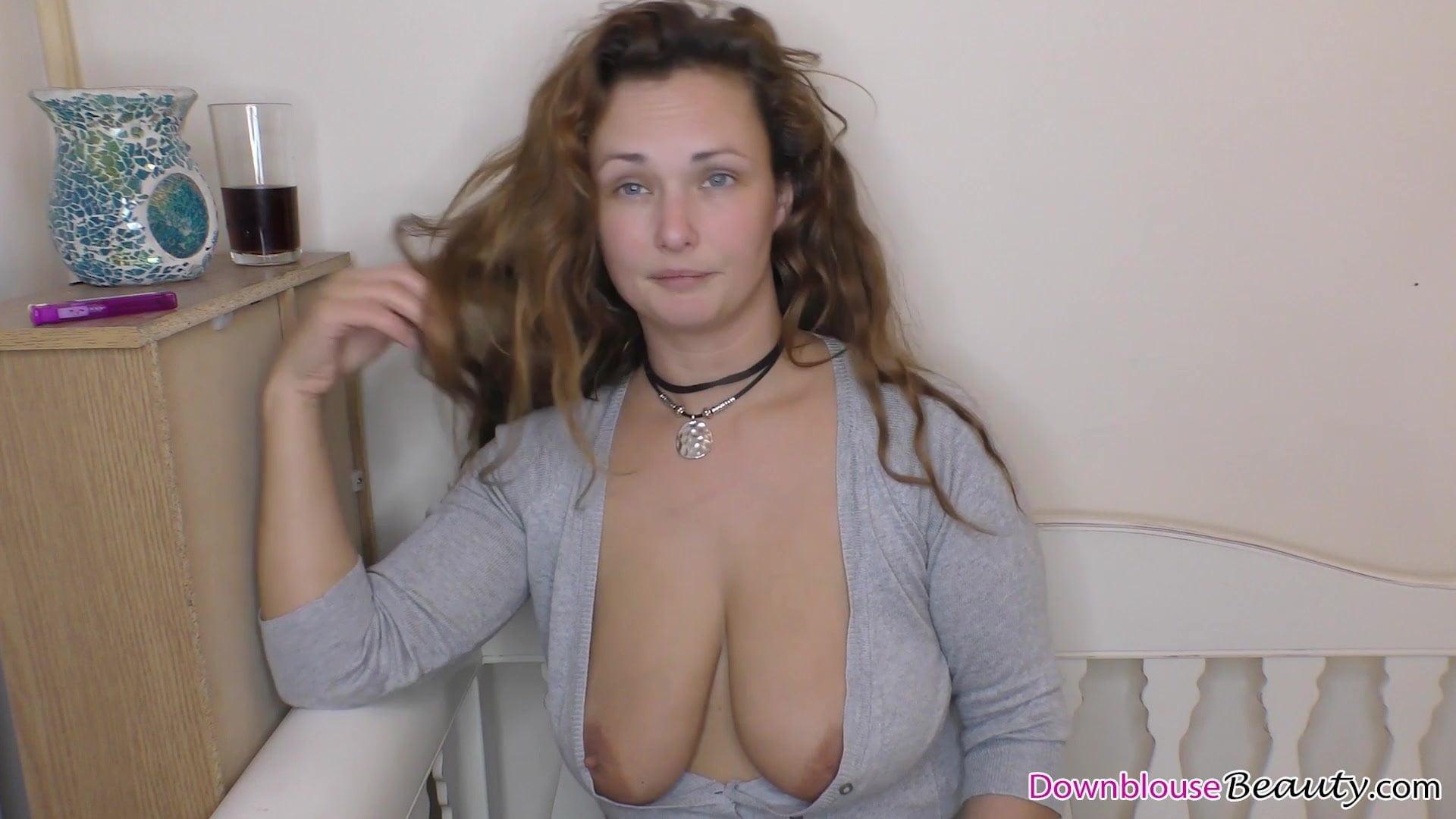 Downblouse Tits