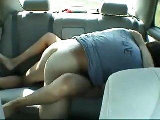 Auto naked - Follada en mi auto