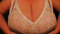 Huge and heavy bbw tits playing